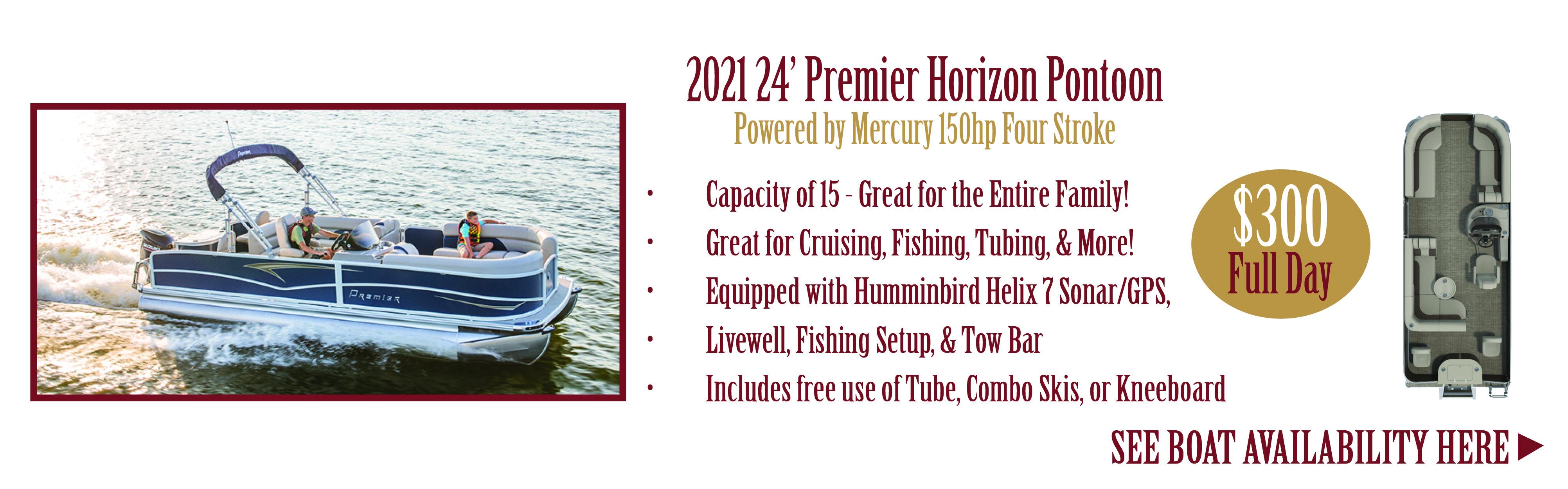Leech Lake Pontoon Rental- 15 passenger pontoon rentals on leech lake