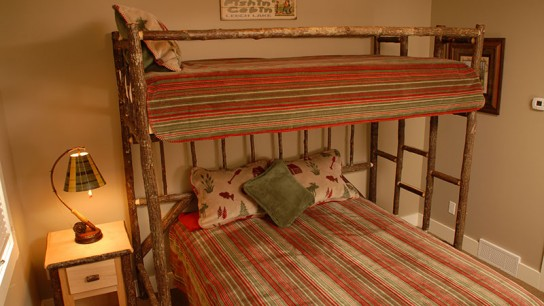Lake Home Guest Room