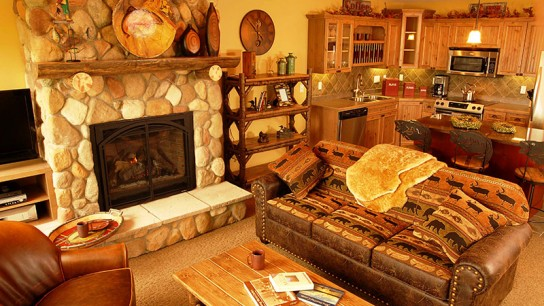 Lake Home Living Room